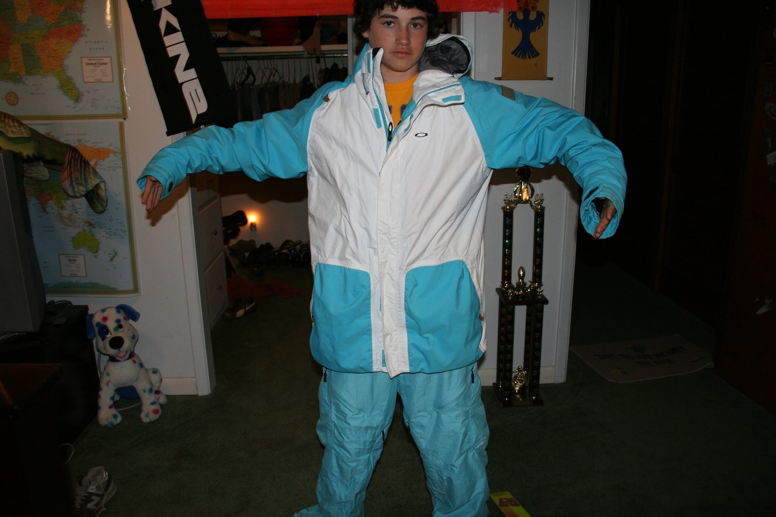 Crash jacket and infocus pants new