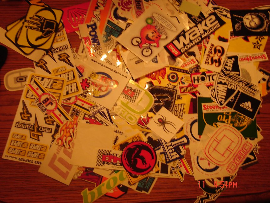 Some of my stickers