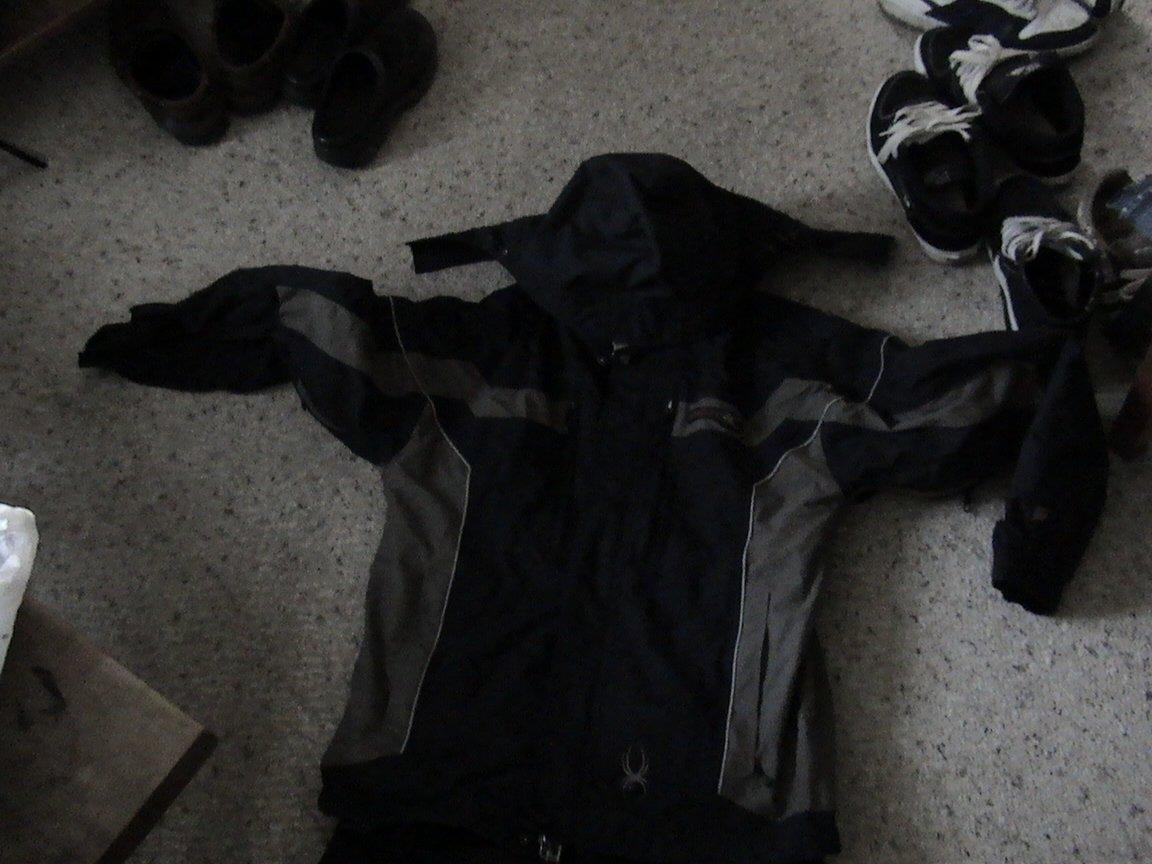 Size medium spyder jacket for sale