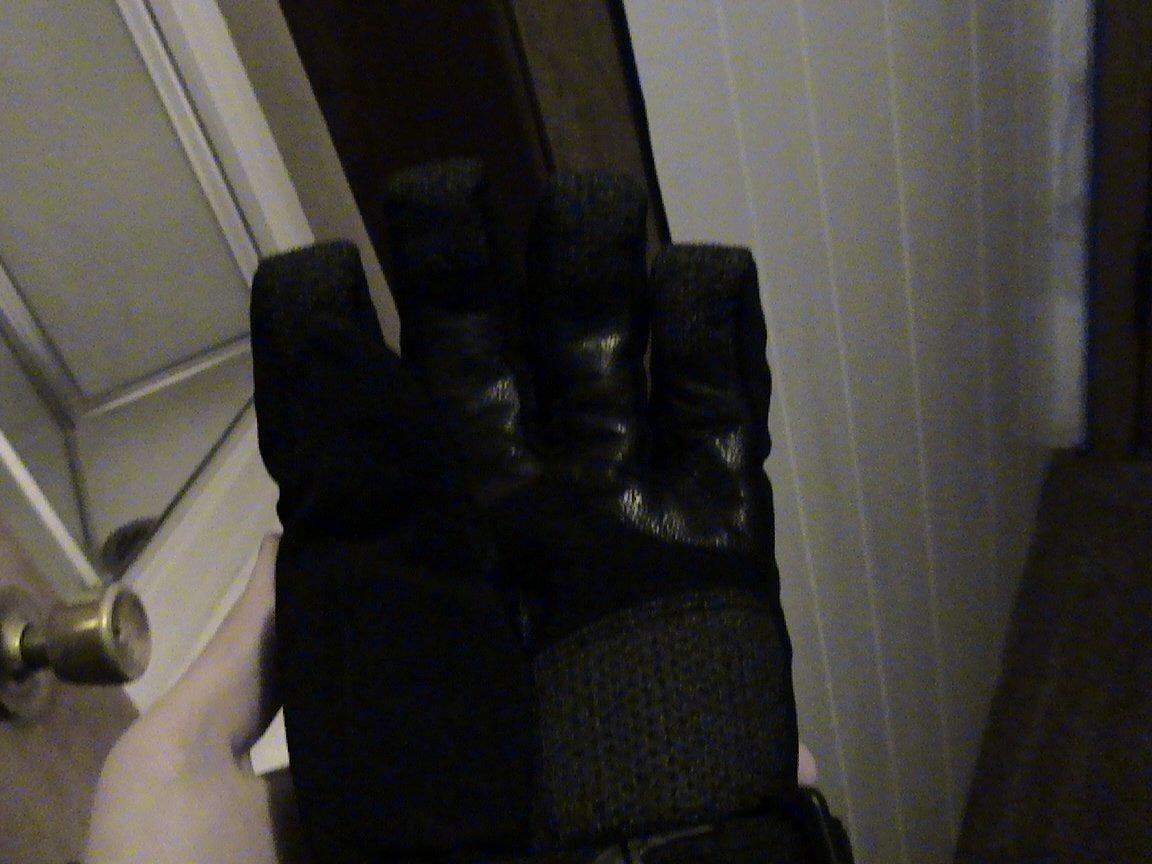 Leather palms