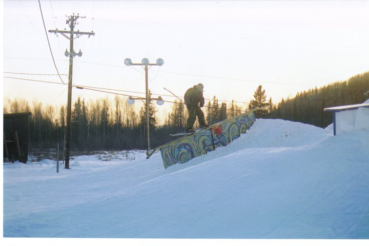 James on down rail