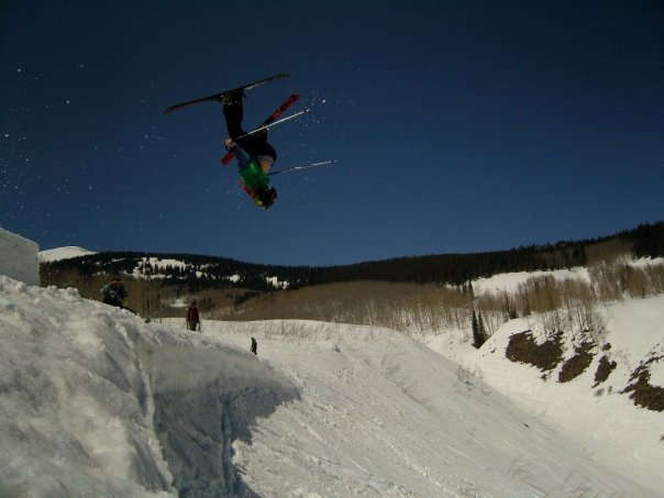 Backflip off Cornice