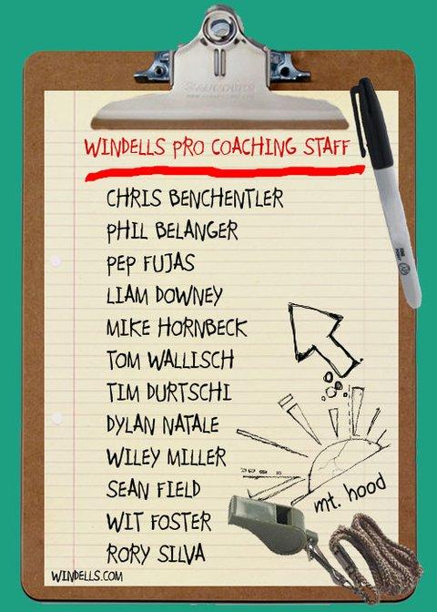 Windells Coaching list