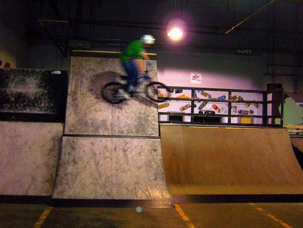 Coast to coast wallride.