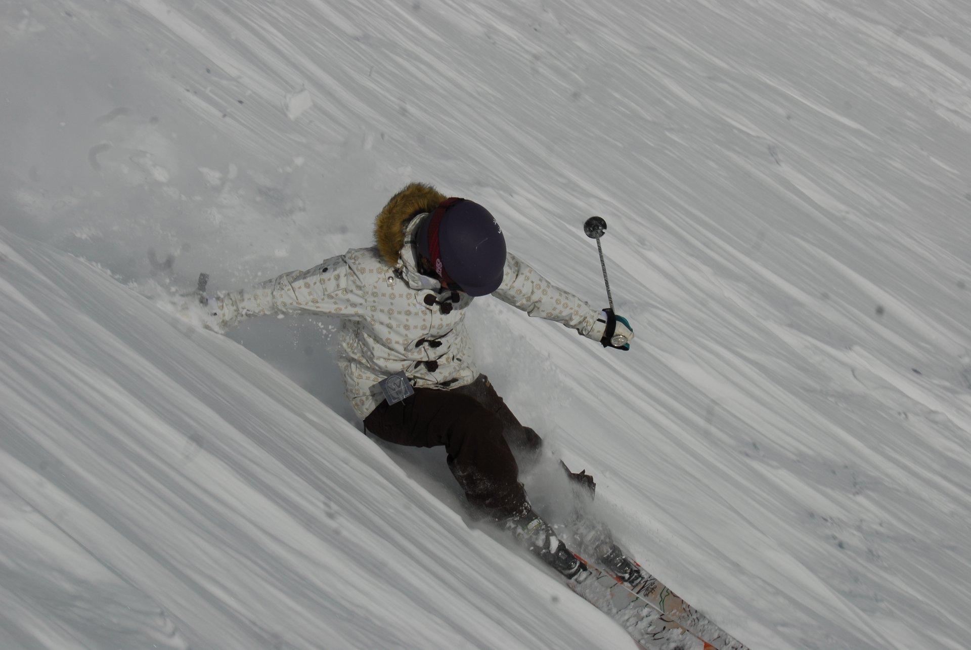 I had fun at Mt. Hood