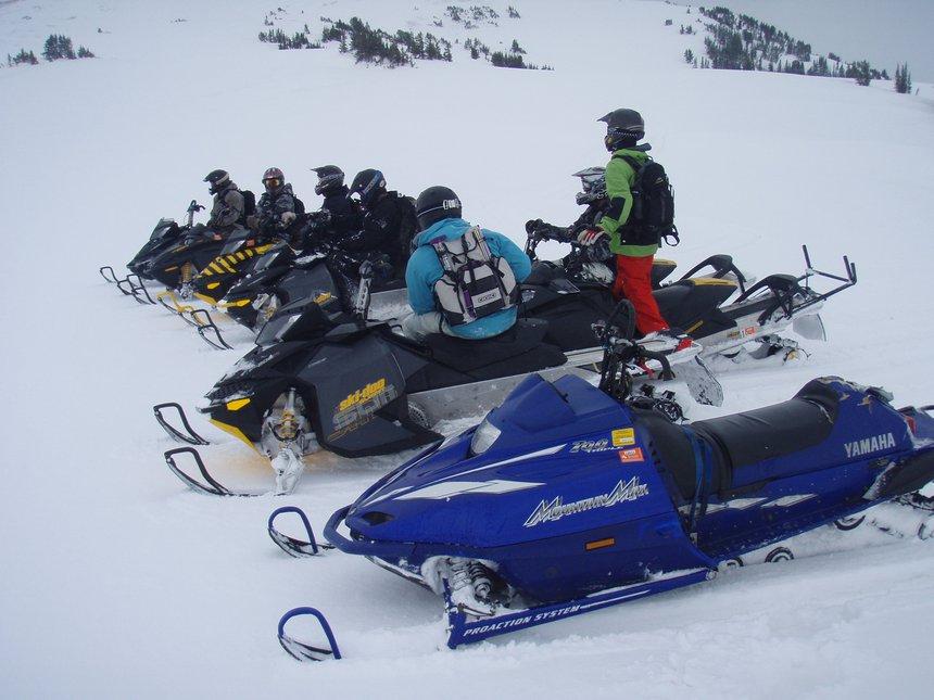 Huge sled crew