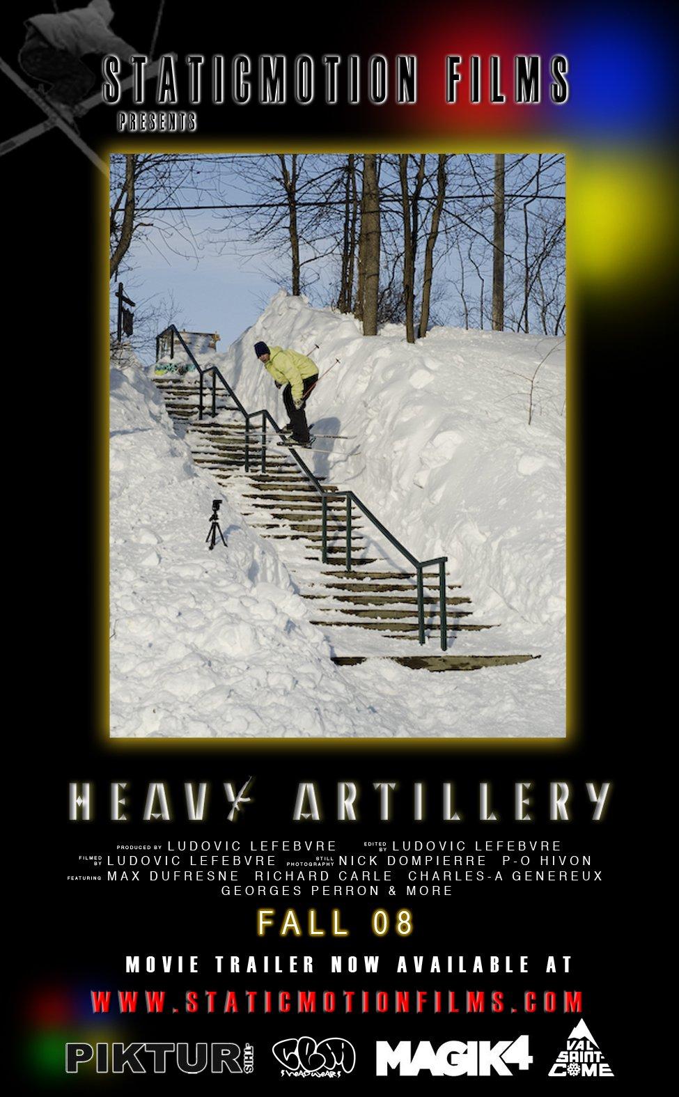 Staticmotion films - Heavy Artillery teaser - 1 of 2