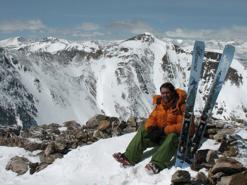 Moment at James Peak - 13,294 feet