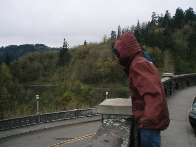 Kevin Todd at Crown Point, Oregon