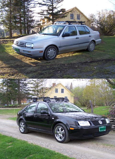 Old jetta new jetta