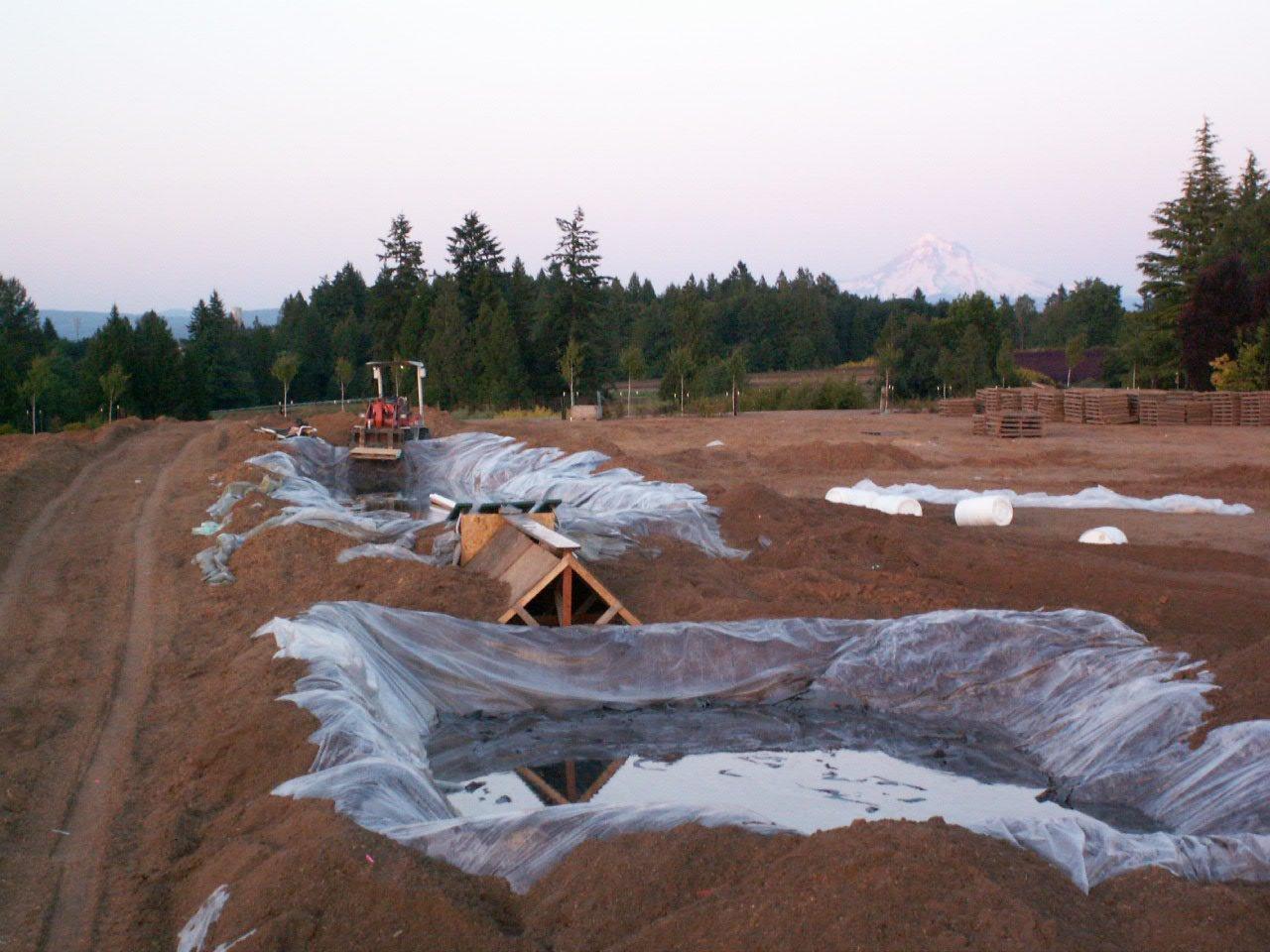 Old wakeboard pond set up