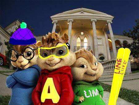 Alvin and gang