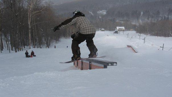 Vermont ski-boarding