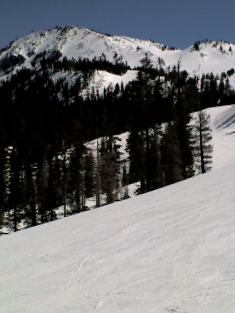 Mammoth Mt. Chair 2 view