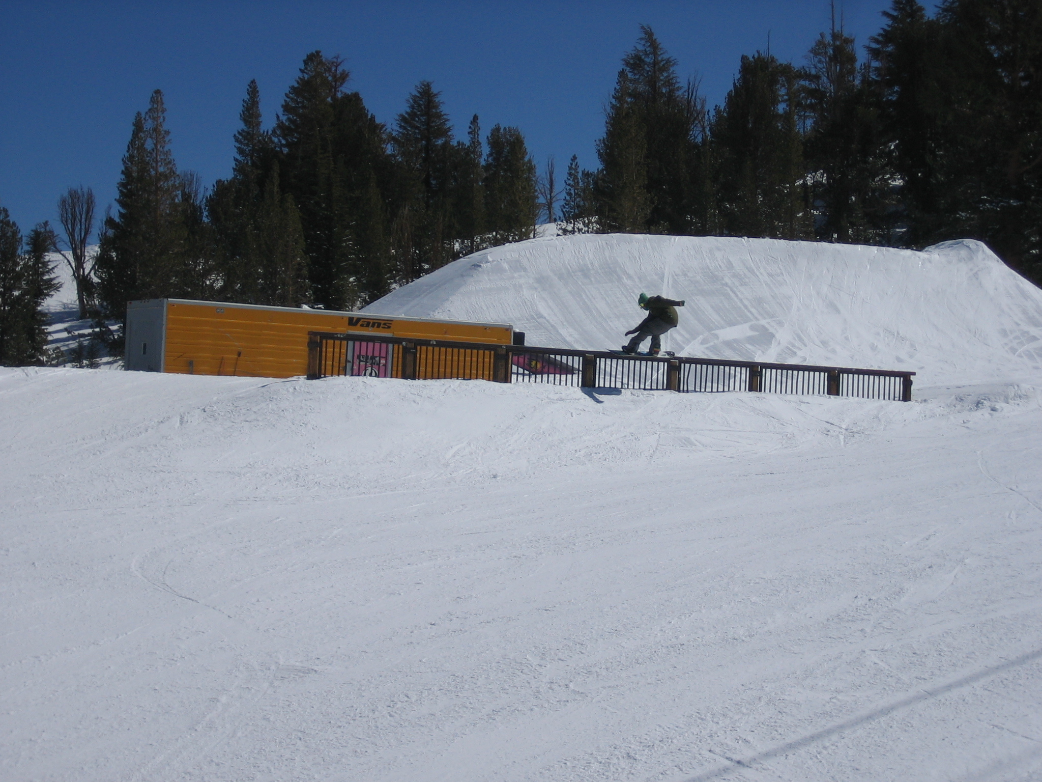 Really long rail @ Mammoth