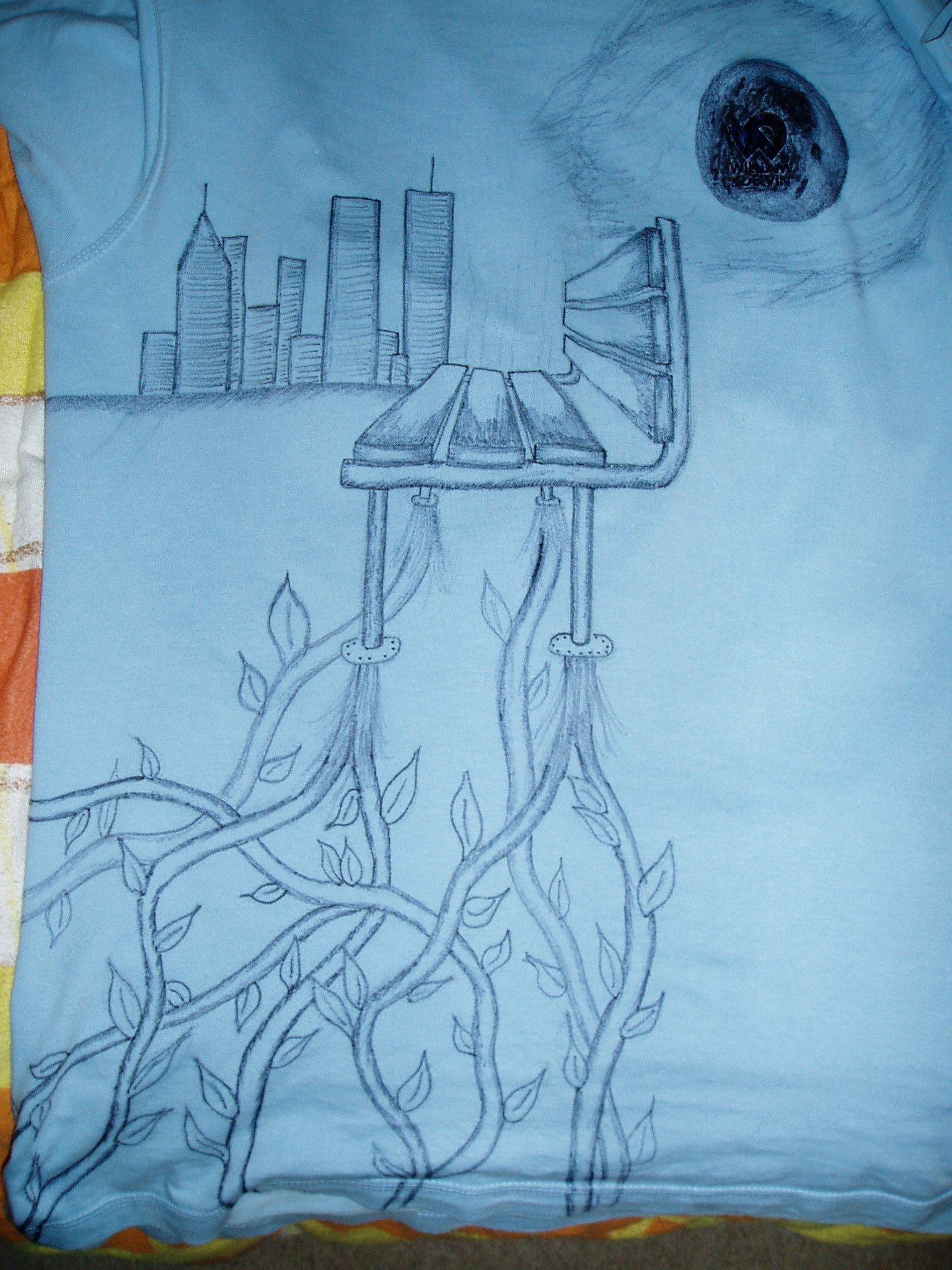 """I """"upgrated"""" another shirt today...check it"""