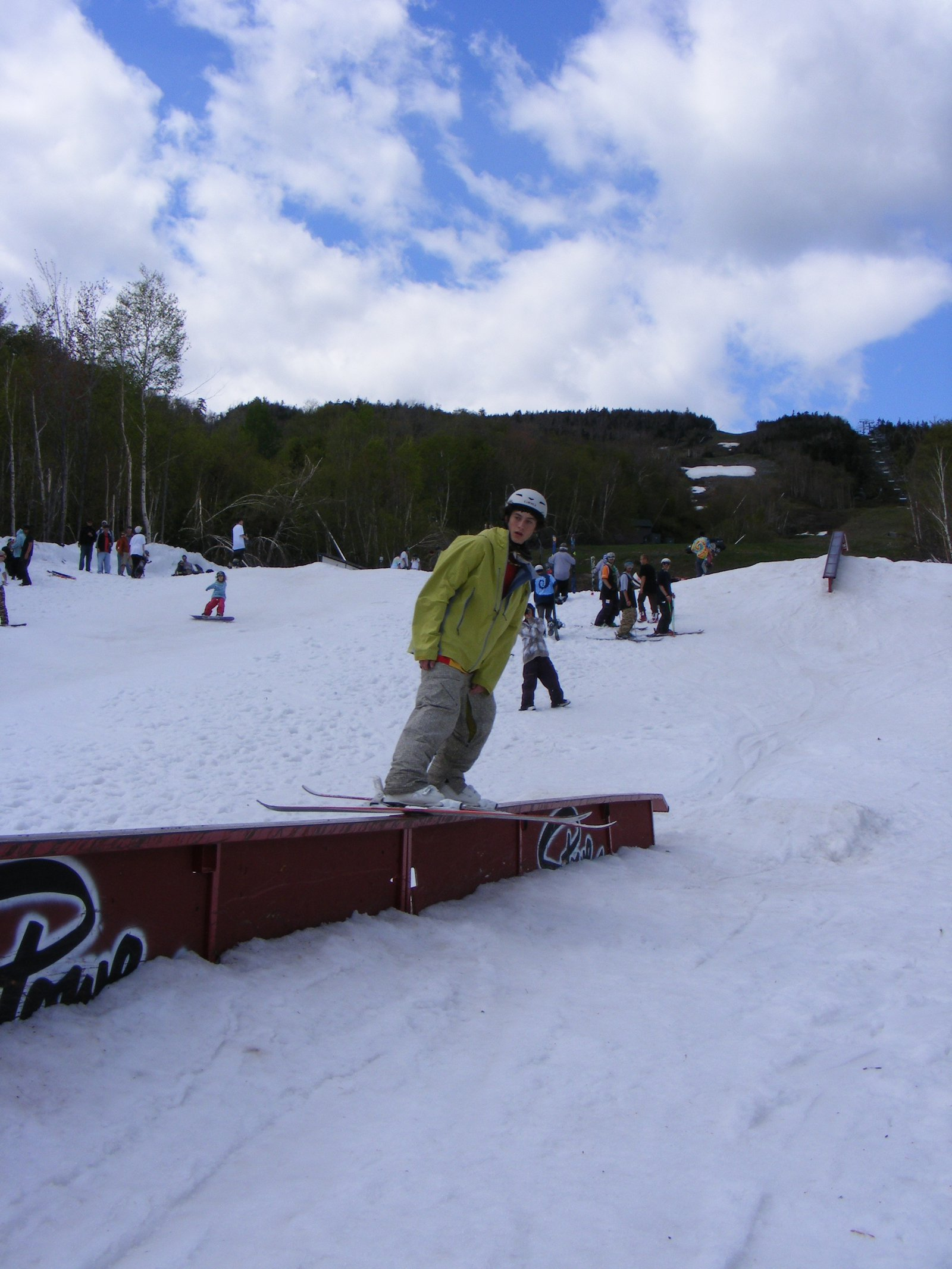 40ft flat bar -last trick rail jam