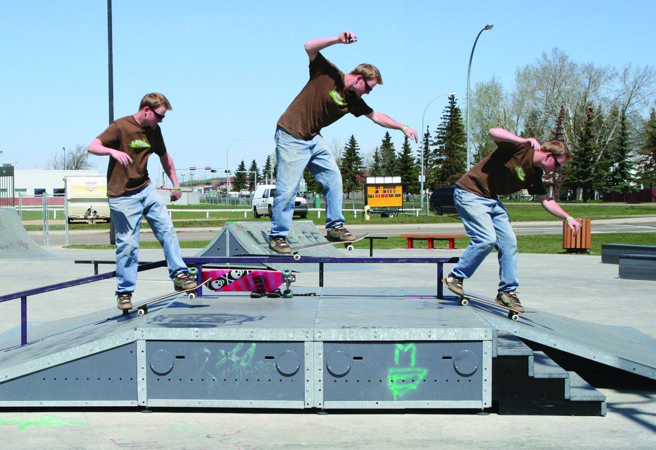 B/S 5-0 at Edmonton Garrison Park