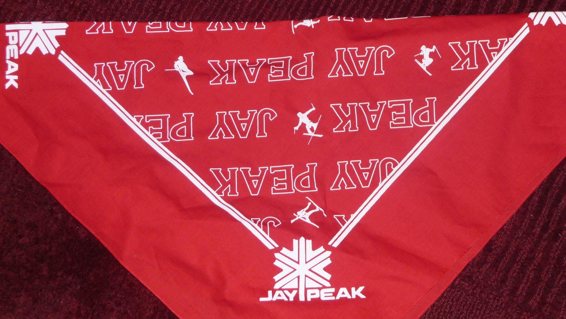 Jay peak bandana never used