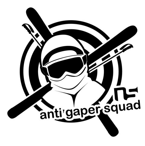Sticker anti gaper