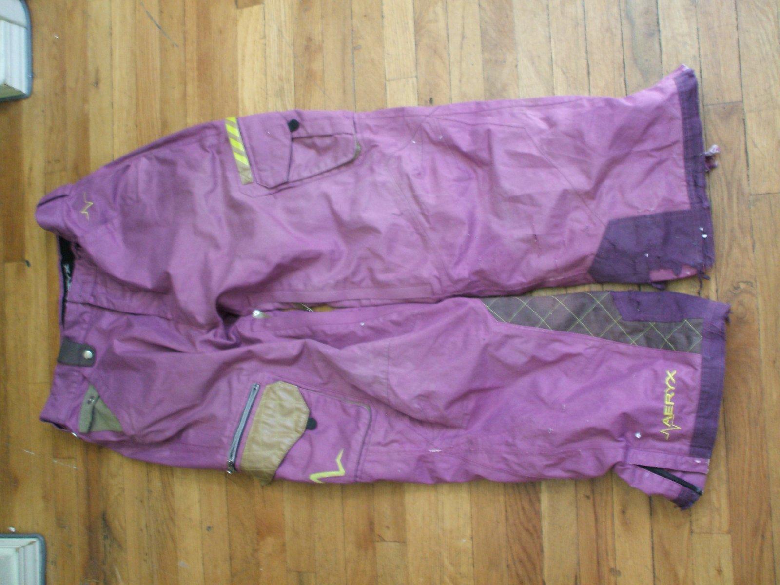 Purple aeryx pant