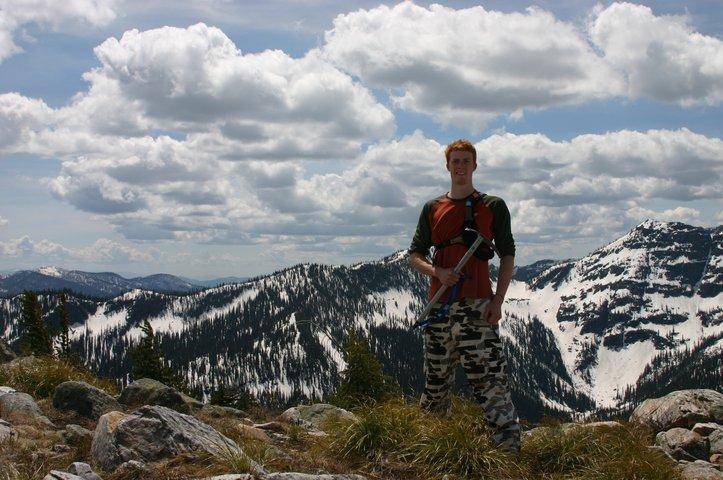 Kootenay Pass, B.C late season hikin