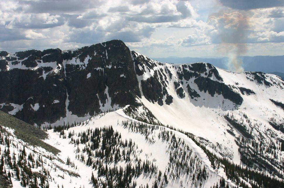 Kootenay Pass, B.C late-season gnarrr