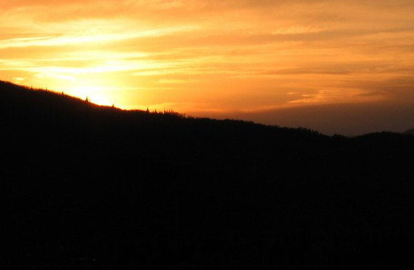 Sunset at Steamboat Springs (2 of 5)