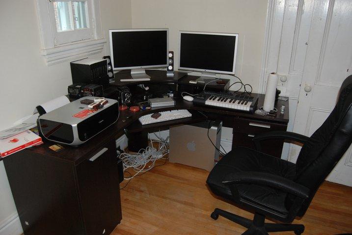 My new editing studio!!