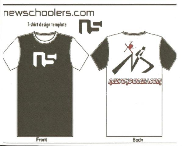 Newschoolers t-shirt