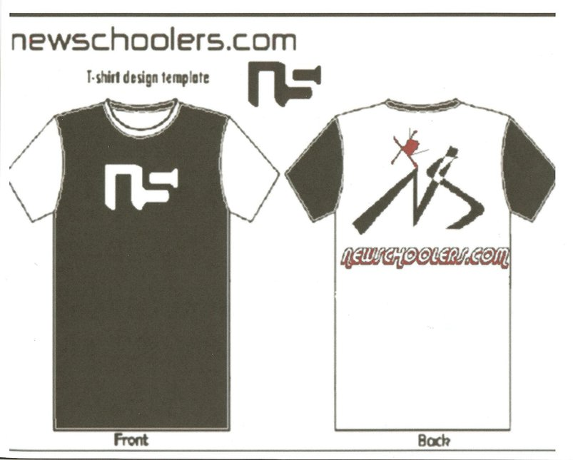 Newschoolers t-shirt