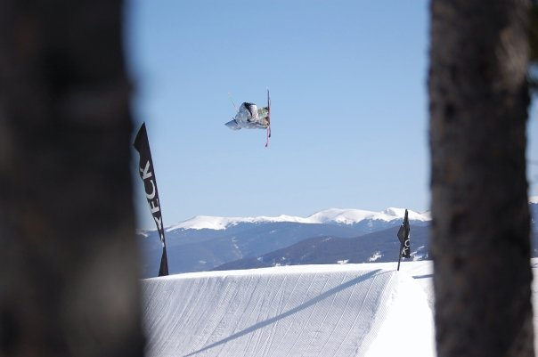 Luke Allen riding Breck