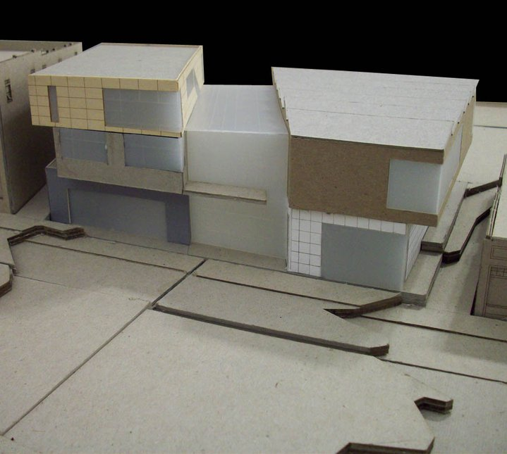 Model of arch. project