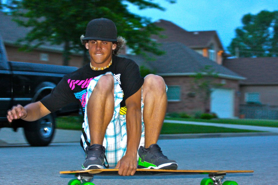 Longboard shot tonight