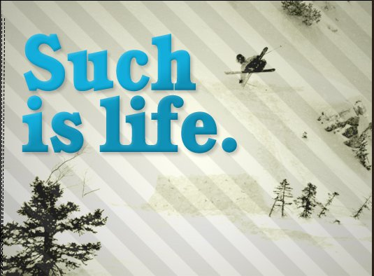 Such is Life by Rage Films
