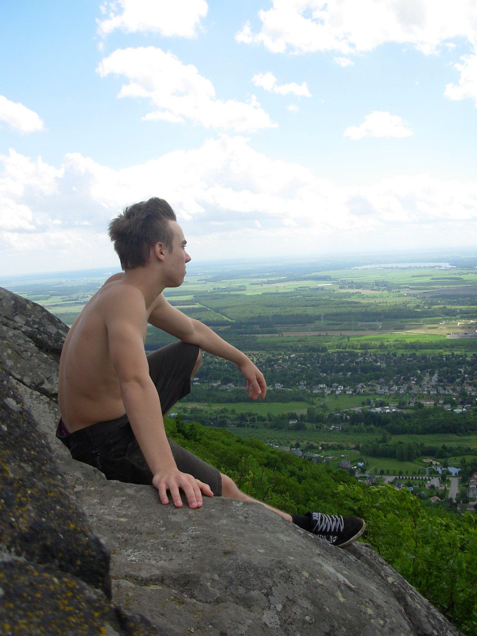 Apreciating the view