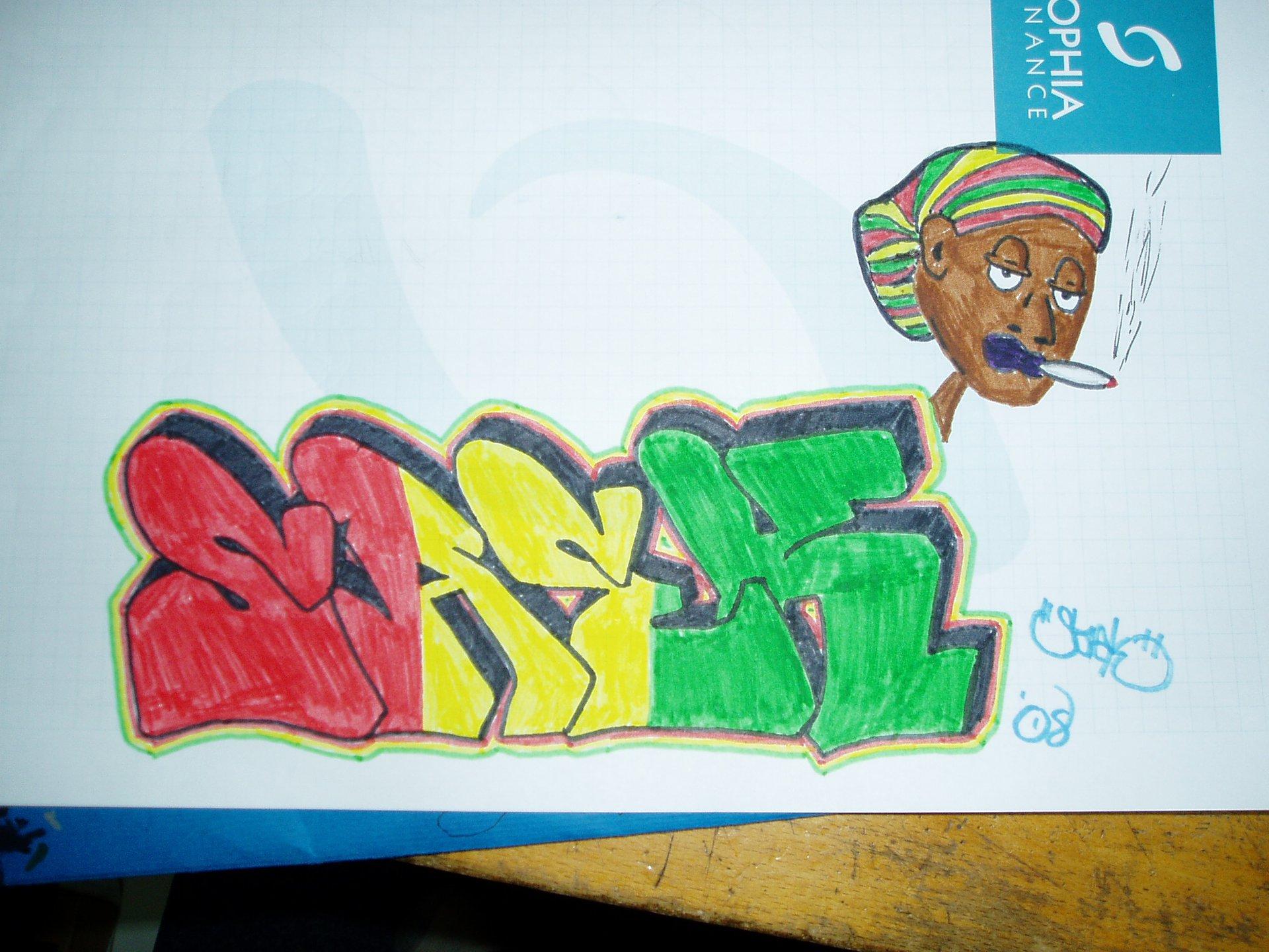 Rasta Graff