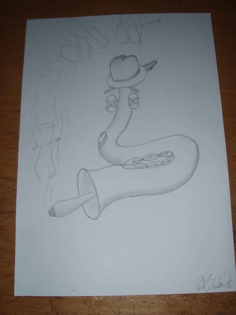 Saxophone picture i did for this kid here
