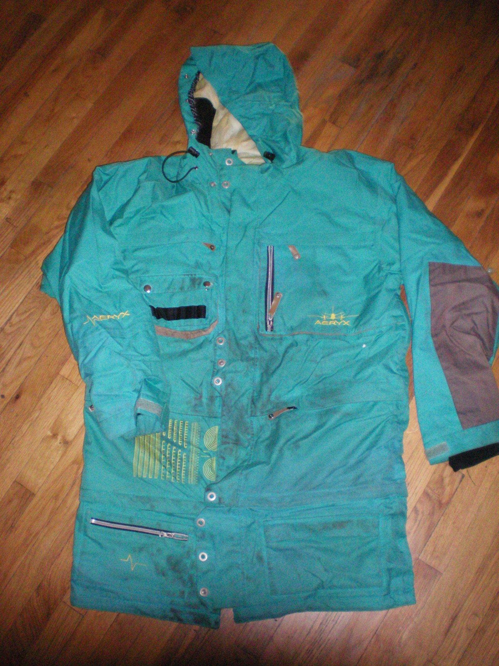 Tall aeryx jacket