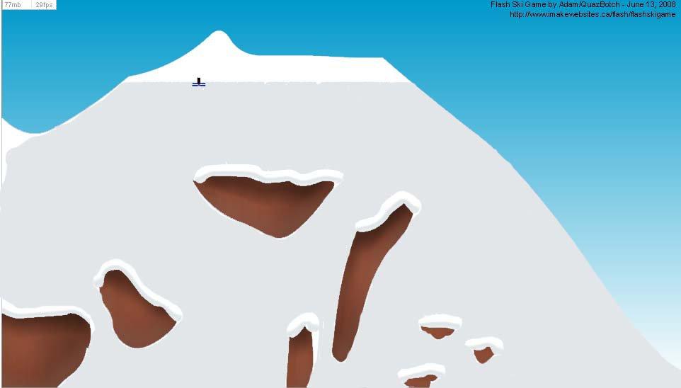 That new ski game