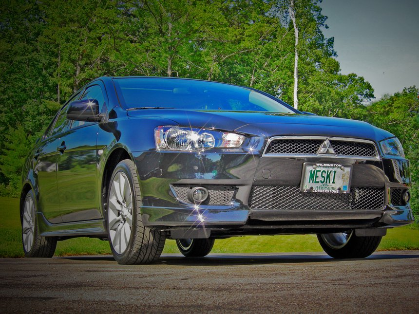 My New 09 Lancer GTS