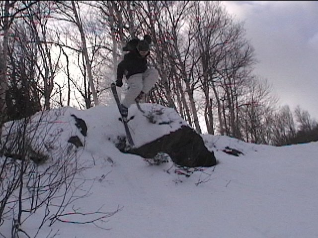Doug on the cliff