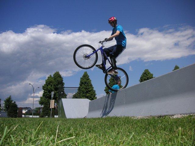 Trial biking