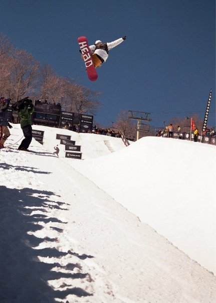 Dope shot from US Open of snowboarding
