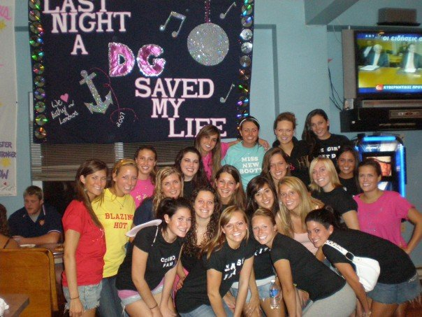 Delta Gamma Pledges '07-'08