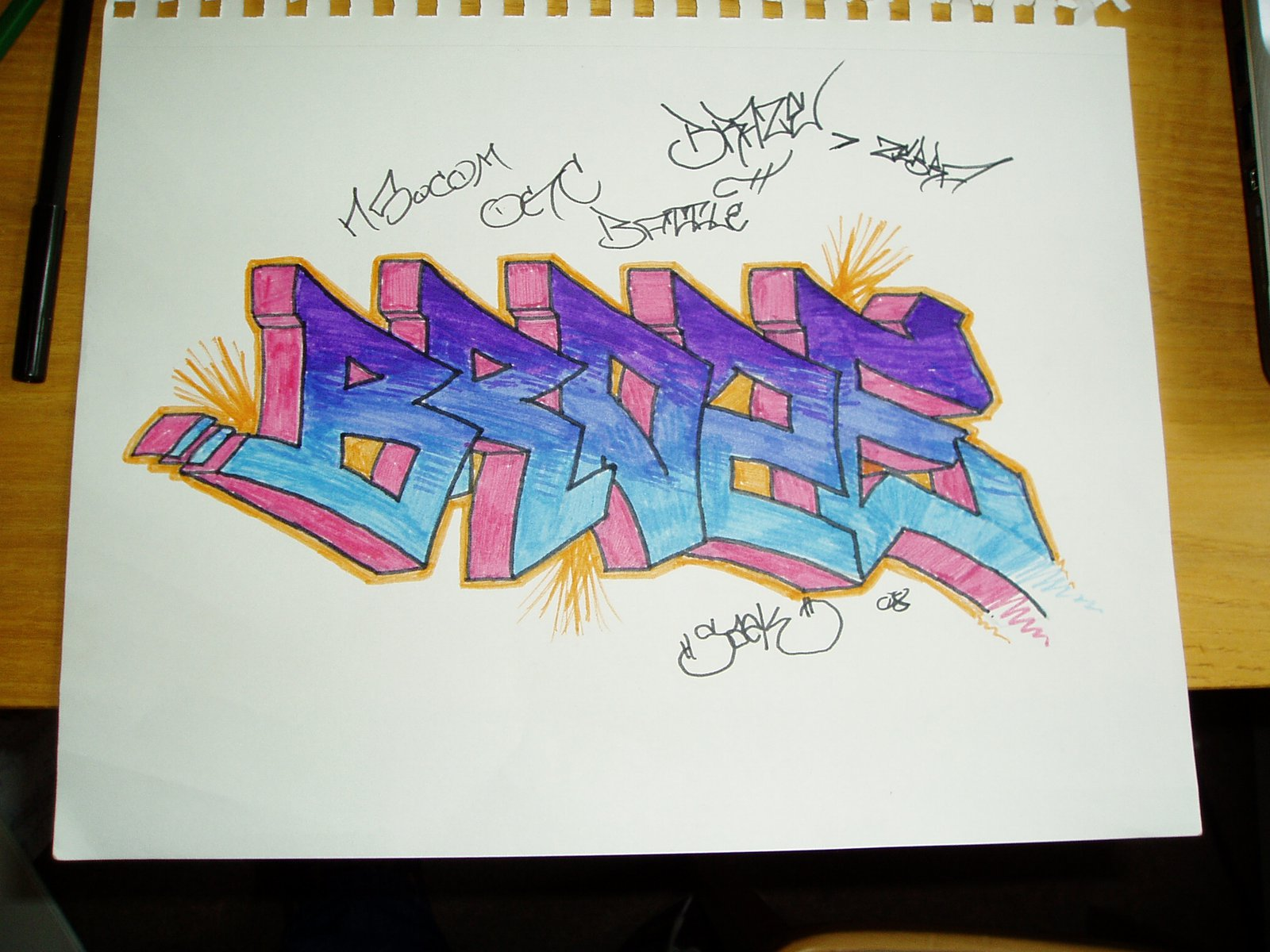 Official Graff Cult Battle Entry...