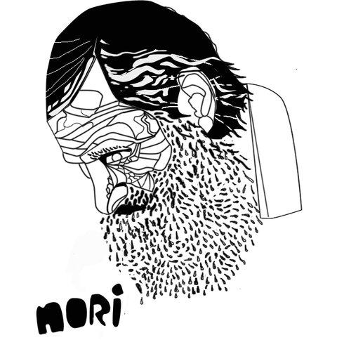 Old man stencil