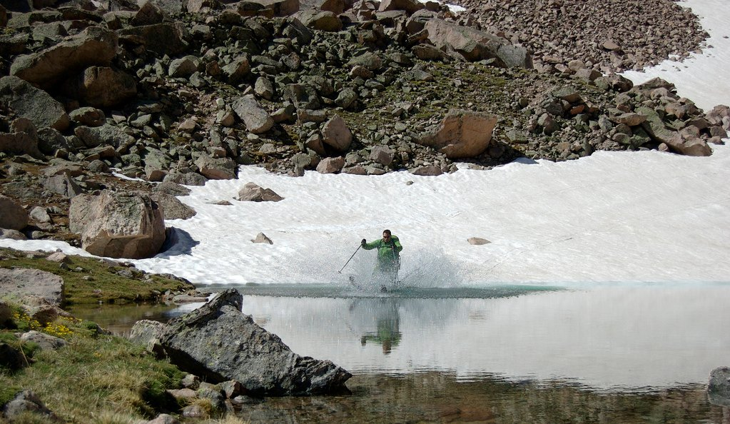 Pond Skimming