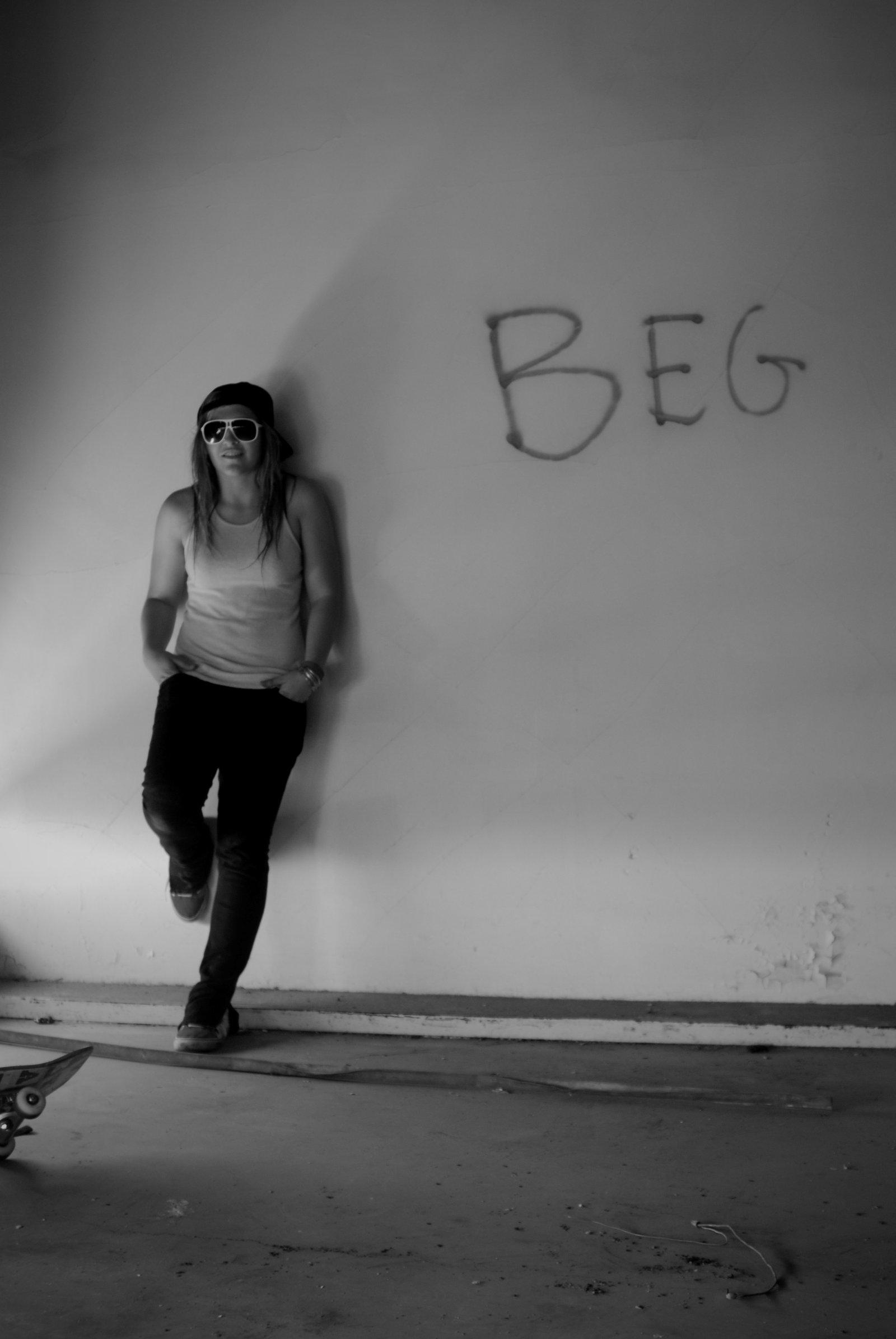 Everybody begs.