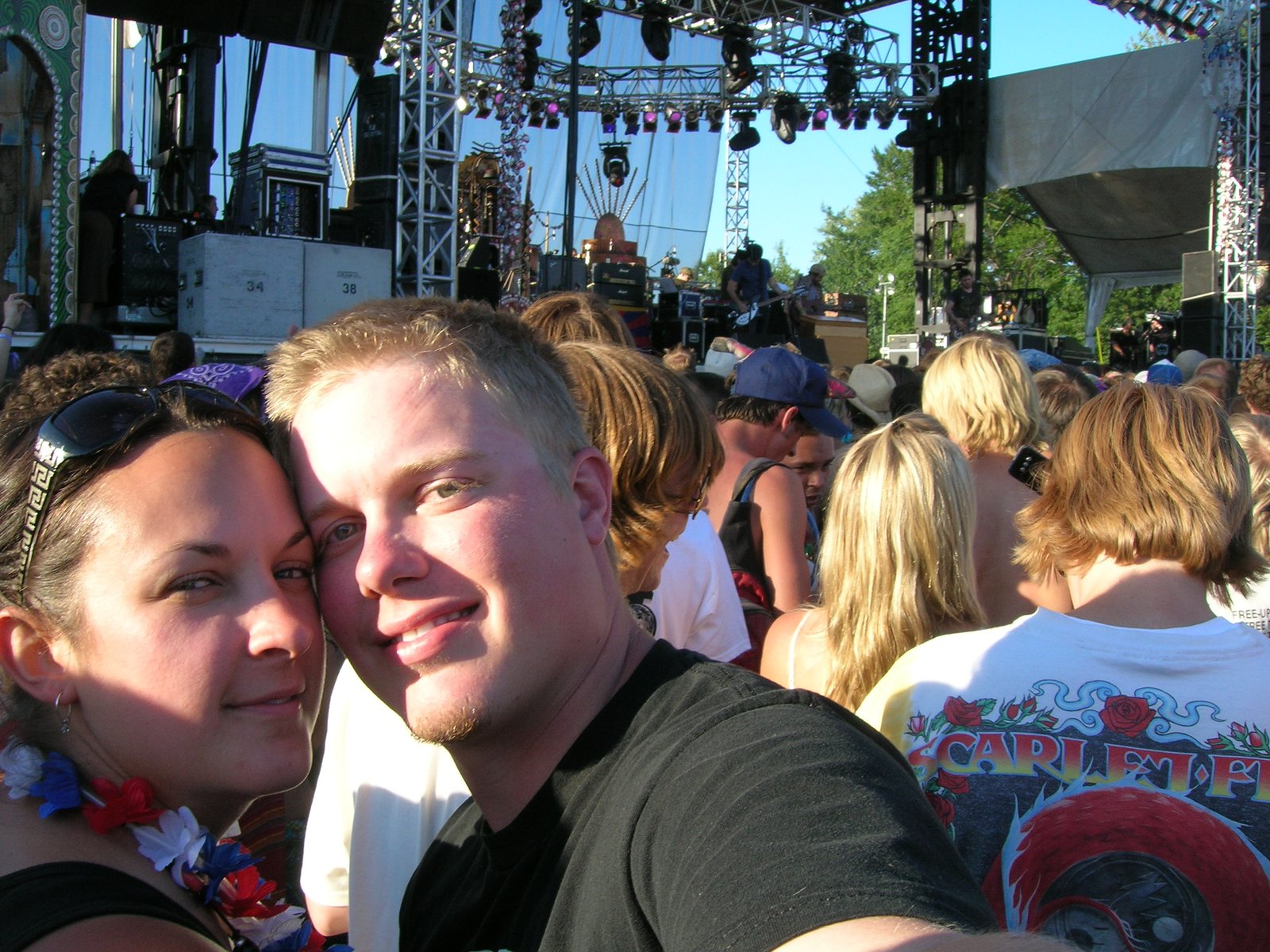 Jess and I with Modest Mouse in background